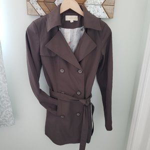3/$30 Lined trench coat